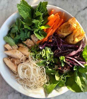 poulet salade vietnamienne