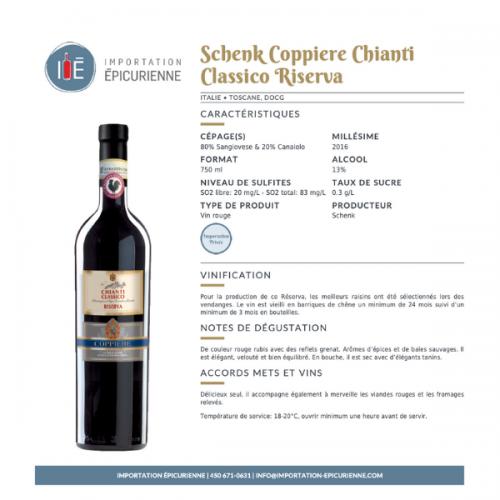 fiche vin rouge Chianti